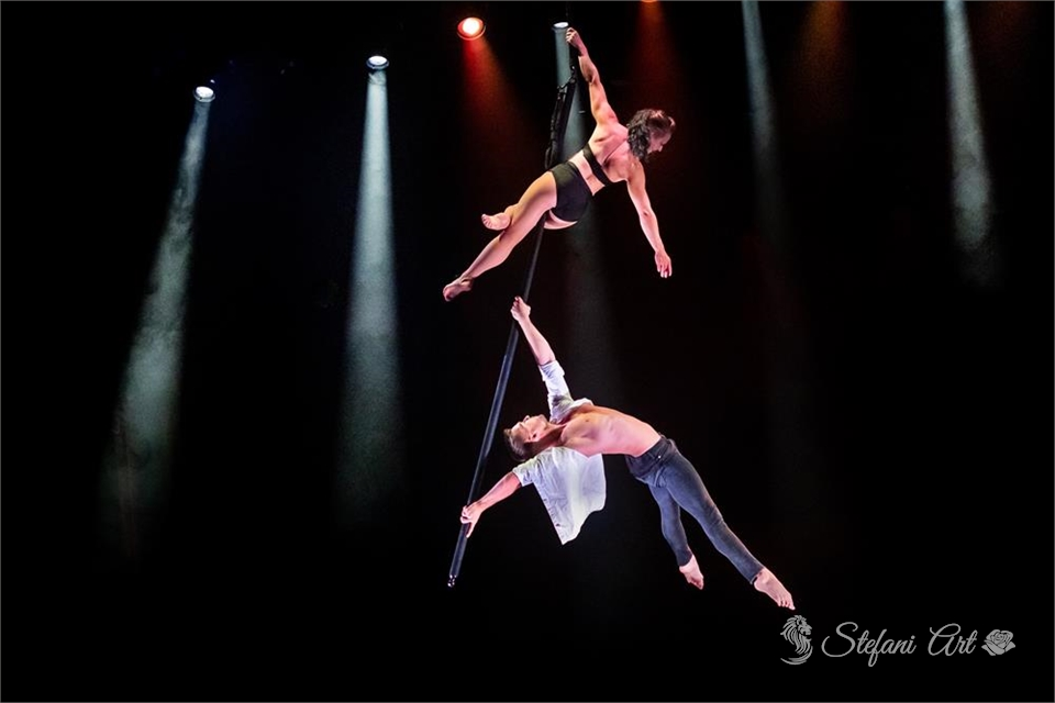 Flying Pole Duo 1